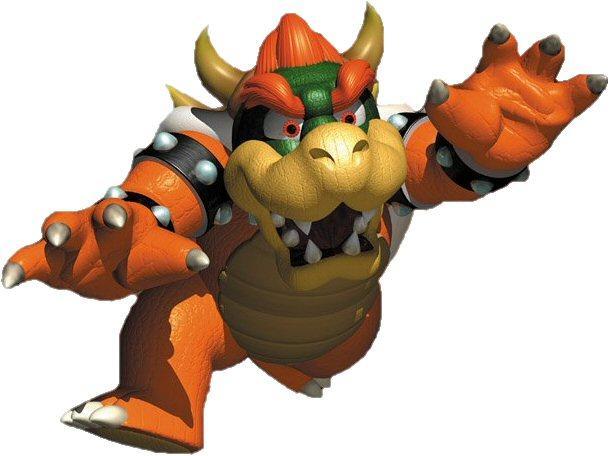 Super Mario 64 Nintendo 64 Bowser Artwork