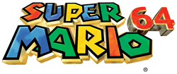 Super Mario 64 logo small