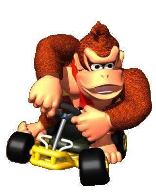 Donkey Kong Driving Kart