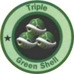 Tripple Green Shell Cup