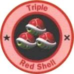 Triple Red Shell Cup