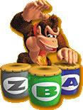 Donkey Kong playing The Beats