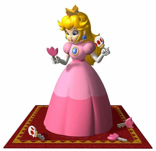 Princess Peach playing Locked Out