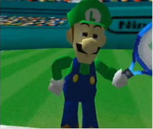 Luigi says he is not afraid  the intro