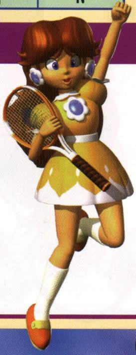Diasy With Racquet