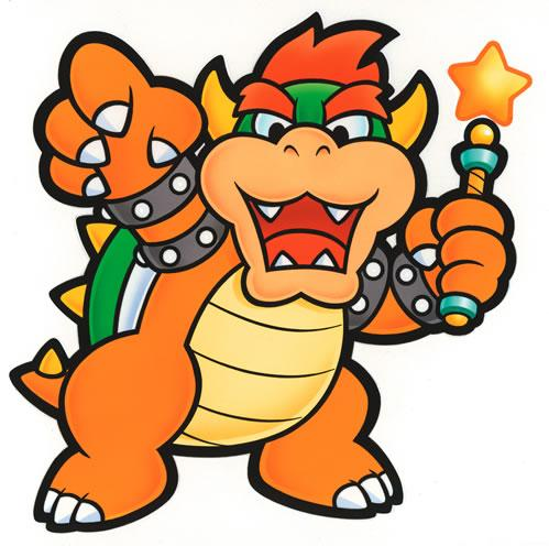 Bowser with the Star Rod