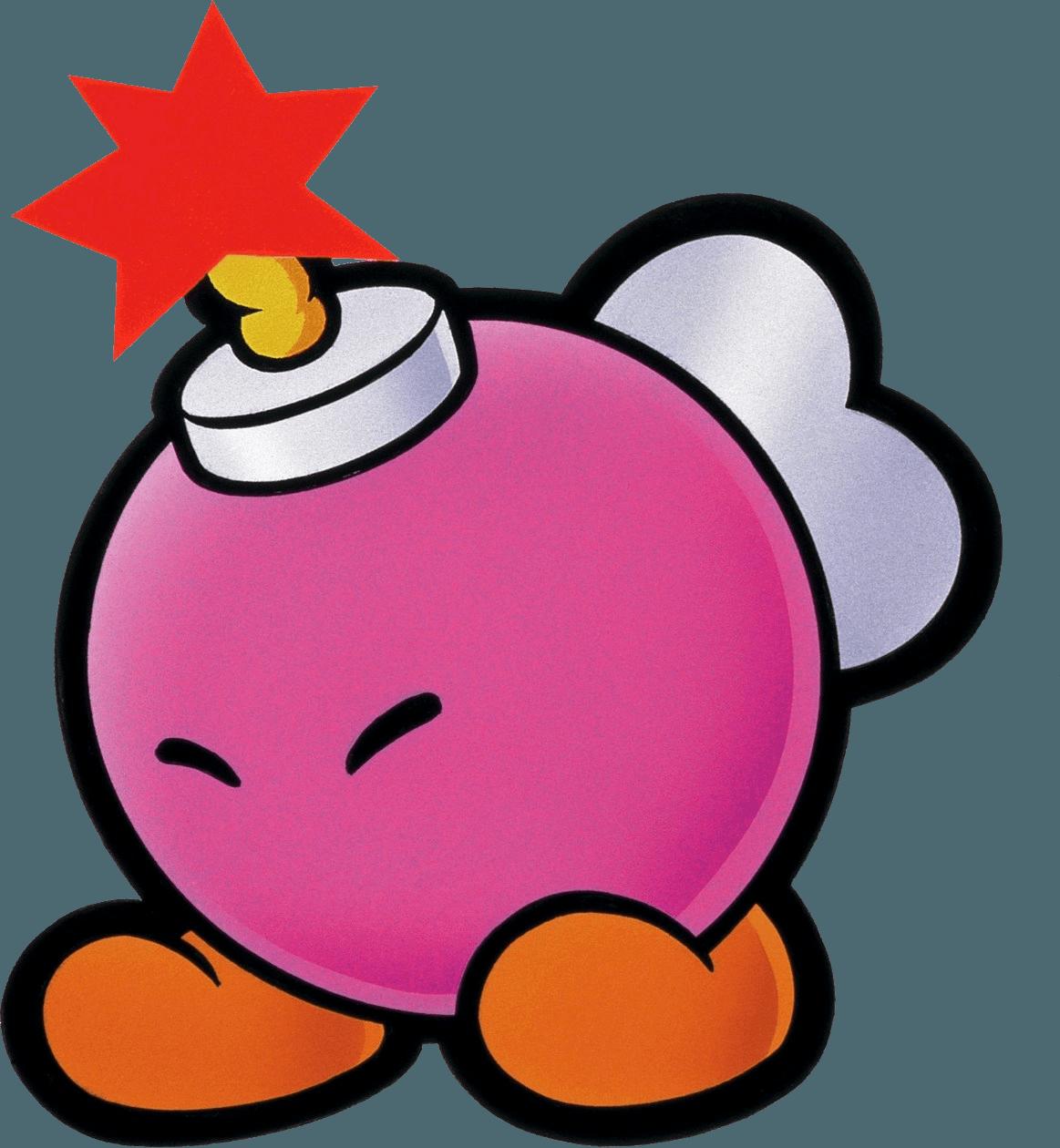 Paper Mario (Nintendo 64) Artwork Including Characters