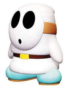 White Shy Guy