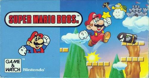 Super Mario Bros. Game & Watch release box art