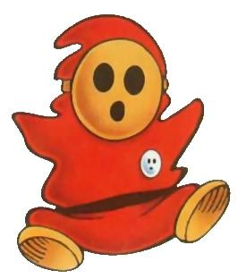 Shy Guy Nintendo Power