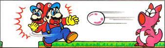 Mario and Birdo