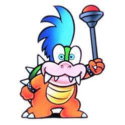 Larry Koopa With His Stick