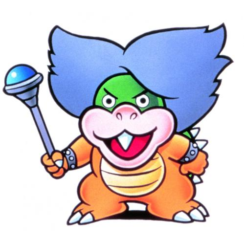 Ludwig von Koopa With His Stick