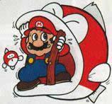 Big Bertha Trying To Eat Mario