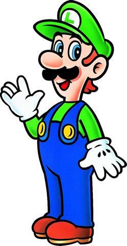 Luigi Waving