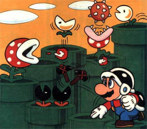 Mario In Pipe Land