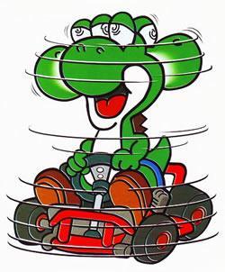 Yoshi spinning out