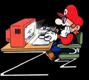 Mario on computer