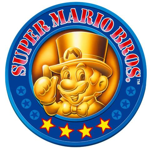 Super Mario Allstars 25th anniversary emblem