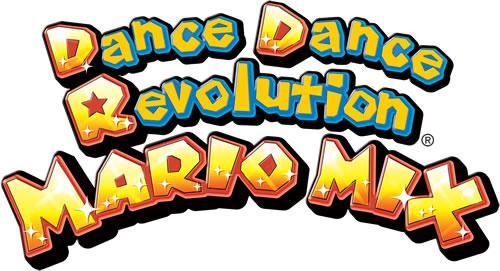 The Dance Dance Revolution Mario Mix logo