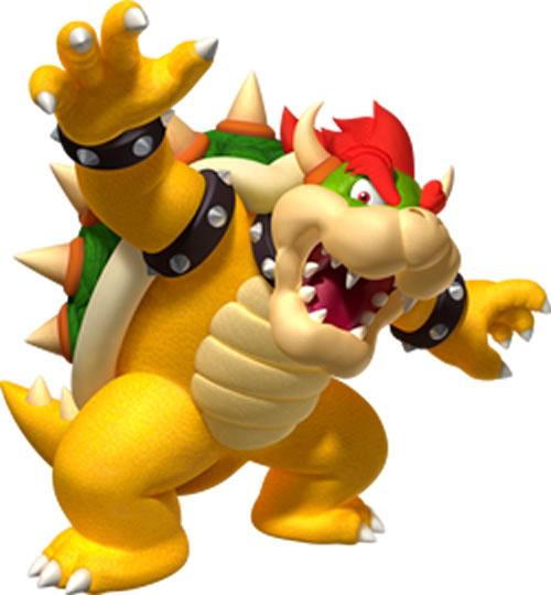Bowser With Arms Outstreched