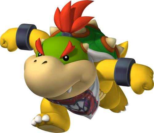 Bowser Jr Running