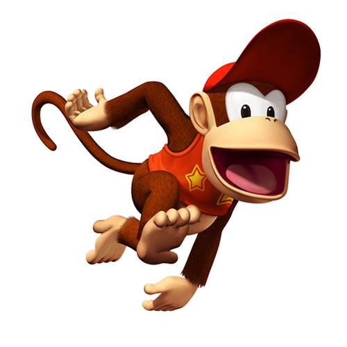 Diddy kong Running