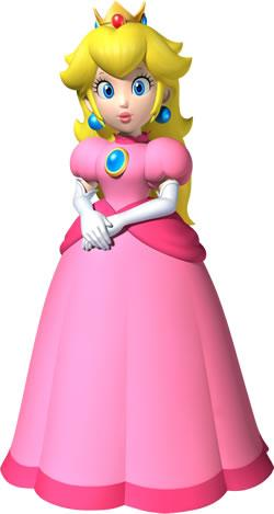 Peach In Rose Dress