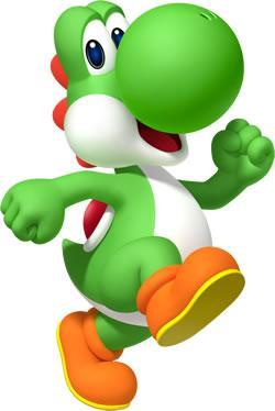 Yoshi Running
