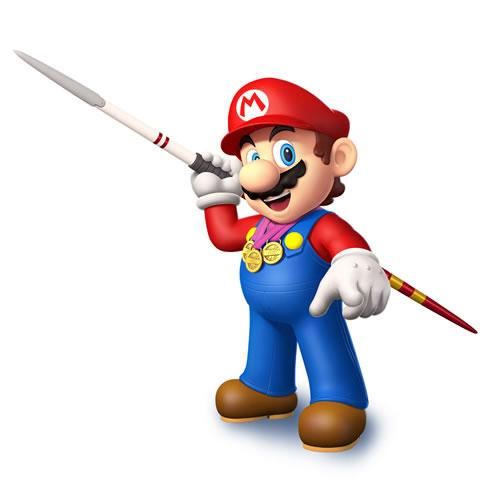 Mario With Javelin
