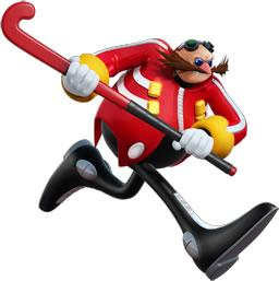 Dr Eggman Playing Grass Hockey