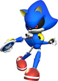 Metal Sonic Throwing Discus