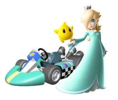 Rosalina Next To Her kart