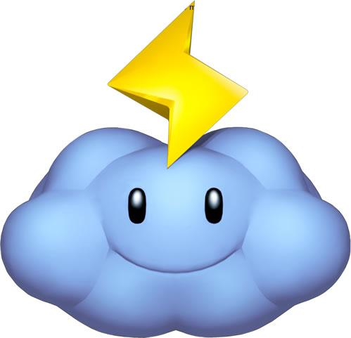 Thunder Cloud Smiling
