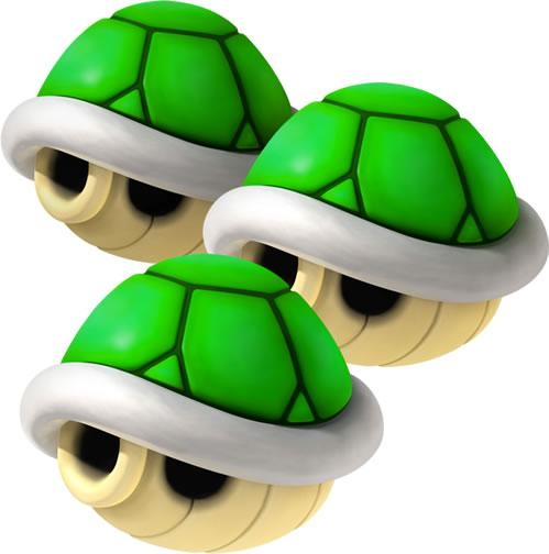 Triple Green Shells