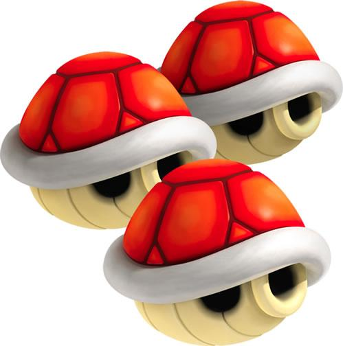 Tripple Red Shells