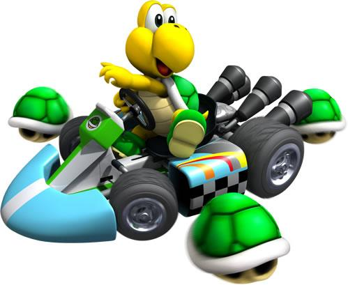 Koopa Troopa In The Kart