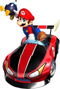 Mario Lobbing Bob Omb