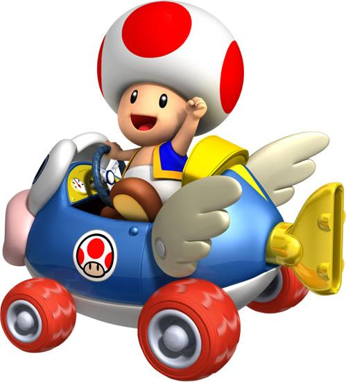 Toad Driving Car