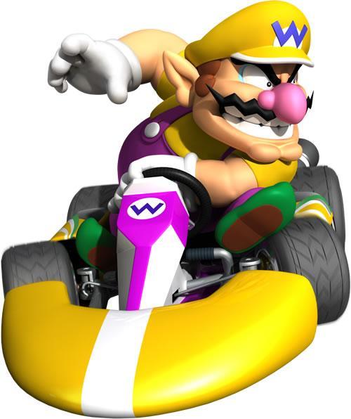 Wario Driving Kart