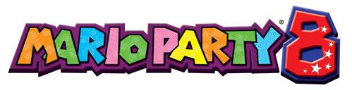 Mario Party 8 English Logo