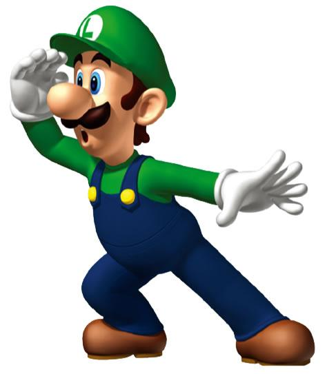 Luigi Looking In Distance