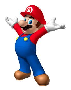 Mario With Hands Raised