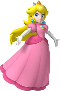 Peach With Hands Raised