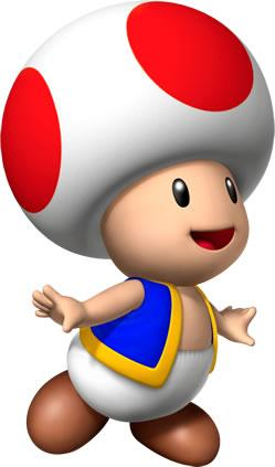 Toad Smiling