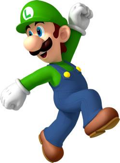 Satisfied Luigi Walking