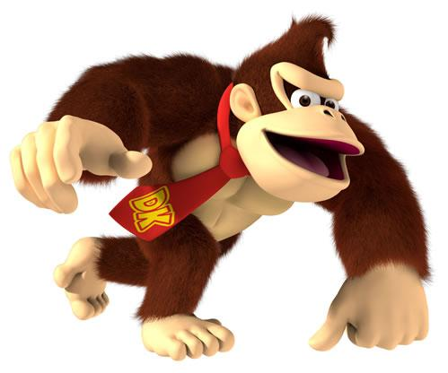 Donkey kong With Tie