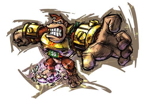 Angry Donkey Kong