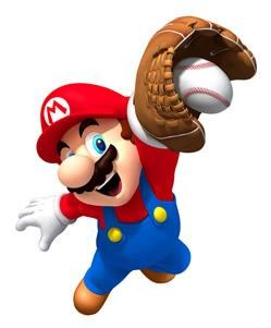 Mario Catching Ball