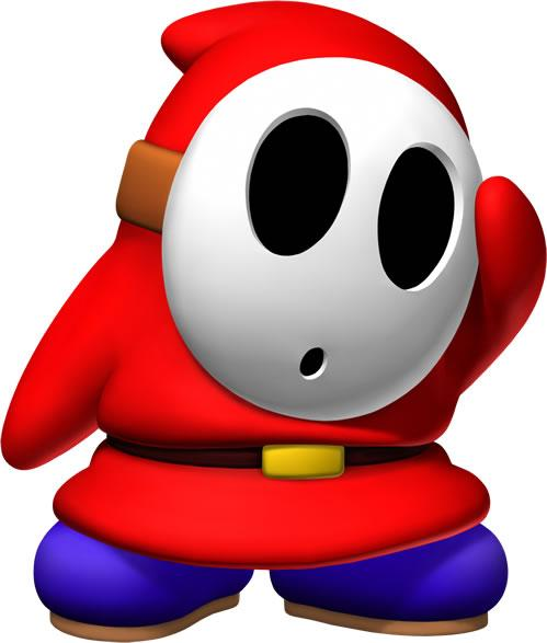 Shy Guy Wondering Something